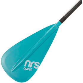 "NRS Quest SUP Paddle 3-piece 68-86"" Teal"